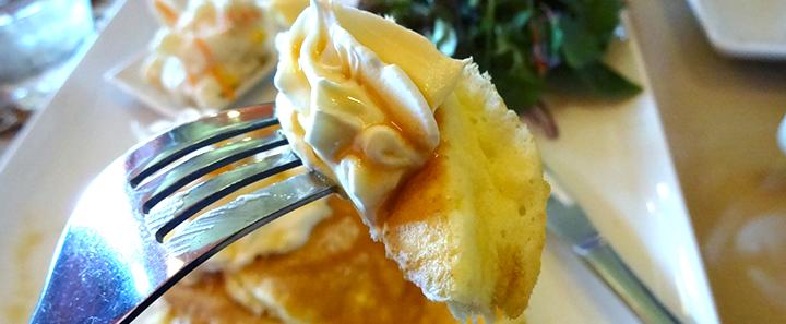 『パンケーキカフェMaHaLo-マハロ』のモーニングパンケーキはかなりお得感のある朝食だDADA・徳島市昭和町