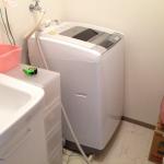 はみ出す洗濯機